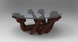Zbrush doodle day 273 - Coffee Table by UnexpectedToy