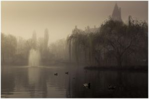 Misty pond 1 by Fun-Lovin-Criminal