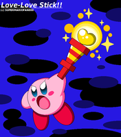 :Kirby: Love-Love Stick - Light Up the Darkness! by SuperMarioFan888