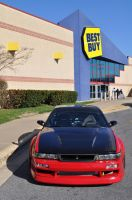 Sexy 240sx Outside Best Buy by ticklemeimsexy