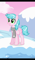 [ MLP || Commission ] Frosty Pastel by VanilleCream