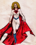Earth-2 Power Girl (Supergirl Variant) by DuracellEnergizer