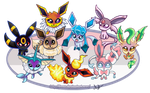 Eeveelution by Finaz