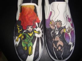 Fire Storm Shoes by JSRPhoenix