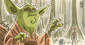 Big Fat Yoda by OtisFrampton