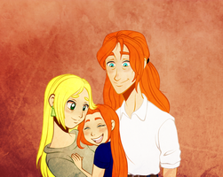 Elijah's Family by MsRoseRed