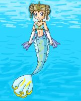 princess Rele mermaid by ninpeachlover