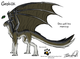 Concept Sketch Grohiik by Neffertity