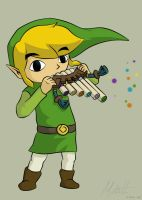 LoZ:ST - The Spirit Flute by Redfred92