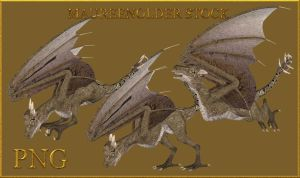 STOCK PNG wyvern 2 by MaureenOlder
