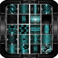 TEAL AND BLACK SHINE by SkormieLovxtreme