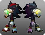 SONIC THE HEDGEHOG - Shadow and Mephiles by out69