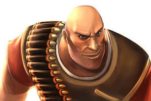 Heavy weapons guy by StalkerNitro
