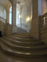 Louvre Staircase III by Anellstock