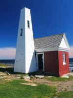 The bell house at Pemaquid by davincipoppalag