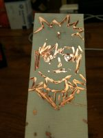 Mos Copper PCB by MetalJacksonFire
