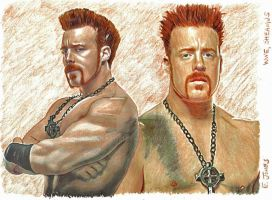 WWE Sheamus by eazy101