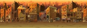 Background for flash game (Not for sale). by Pykodelbi