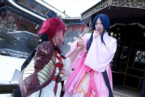 Magi - Kouen and Hakuei cosplay by Choumai