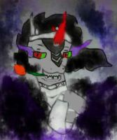 King Sombra Drawing by CKittyKat98