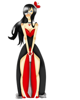 Queen of Hearts Ref by Foxiani