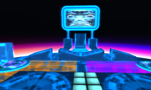 Tron 80's Style Build Second Life image 3 by Maiamimo