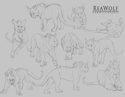 ReaWolf Commission by DawnFrost