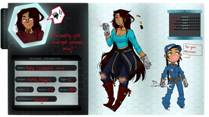 O.R.G.A.N App: Reno Gillespie by DemonGirlLovely
