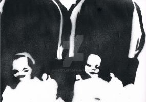 A stencil for family by GHOSTZzArt