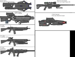 Military Weapon Variants 38 by Marksman104