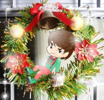 Christmas' garland by Pulimcartoon