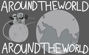 Awound the worwld by Latiken