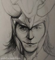 Loki - work in progress - by JuliaFox90