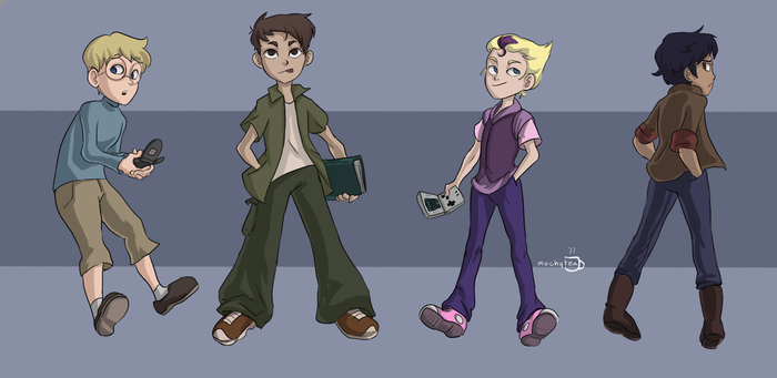 The Boys by moch-y