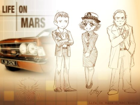 Life on Mars by Niki-UK