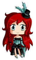 [CLOSED] OFFER ADOPTABLE Burlesque Redhead by izka197