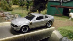 Unnoticedtrails Mustang by hankypanky68