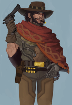 Mcree by sweettimereplay