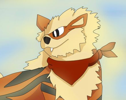 Arcanine by vampireknight16