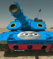 Thomas the Tank by Hatengine