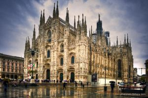 Milano Cathedral by wulfman65