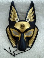 Long-eared Anubis Mask by merimask