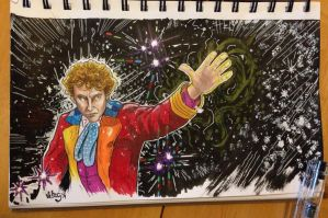 The Sixth Doctor by vibog-3