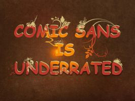 Comic Sans by Joannyta
