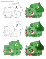 Step Up - Bulbasaur by MayaIdanan