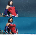 Screen Repaint: Wonder Woman by I-am-knot