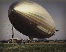 USS Akron - In Color by TwoStripTechnicolor