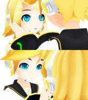 MMD - Can you smile for me? by Ayumichigolove