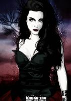 Amy Lee fan vector updated 1 by KHUANTRU