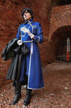 Roy Mustang cosplay for RSYA 2 by mor-rigan